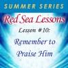 Red Sea Lesson No.10 Social Media Graphic
